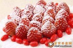 家庭水果装饰蛋糕