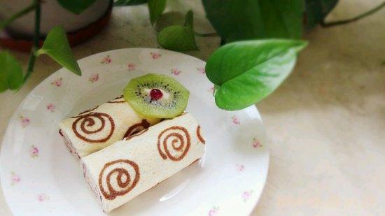手绘天使蛋糕卷的家常做法