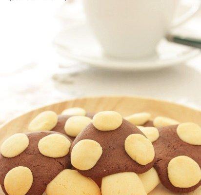 超可爱的蘑菇饼干的做法