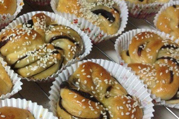 25款花式面包制作手法图解   有谁能提供花式面包的详细制作方法或者