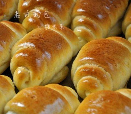老式面包的家常做法_老式面包的做法大全-君之烘培网