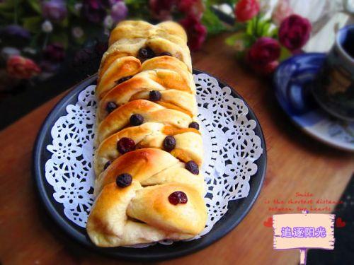 水果面包的家常做法_水果面包的做法大全-君之烘培网