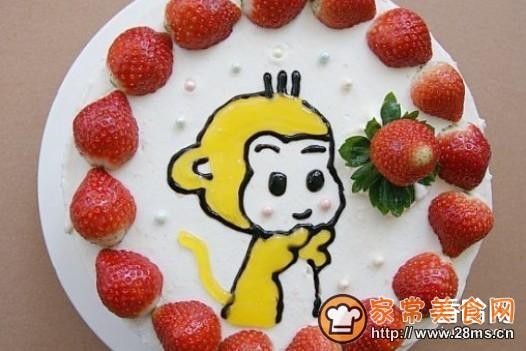 小猴生日蛋糕的家常做法