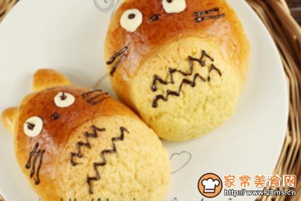 龙猫面包的家常做法_龙猫面包的做法大全-君之烘培网