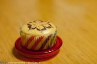 拉花戚风纸杯蛋糕
