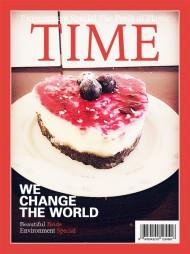 免烤蓝莓芝士蛋糕