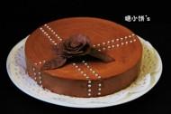 树莓酱巧克力慕斯