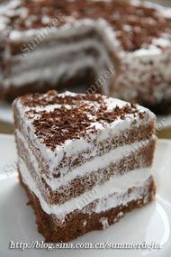 伪版黑森林蛋糕