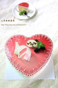桑椹芝士蛋糕