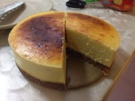 榴莲重乳酪芝士蛋糕