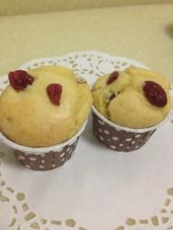 蔓越莓麦芬蛋糕