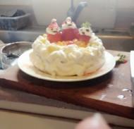 圣诞什锦水果小蛋糕
