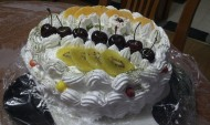 装饰蛋糕奶油水果蛋糕