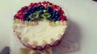 水果冻芝士蛋糕