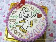 史努比生日蛋糕
