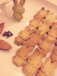 抹茶米菲兔饼干
