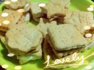 燕麦苏打小饼干