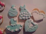 婚礼超漂亮翻糖饼干