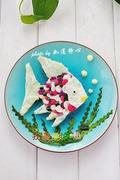 彩虹鱼三明治