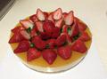 冻柠檬芝士生日蛋糕