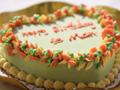 花瓣抹茶慕斯蛋糕