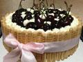 生日蛋糕手指饼樱桃蛋