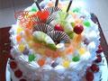 亲亲宝贝的生日蛋糕