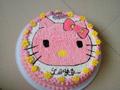 kitty猫生日蛋糕