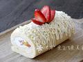 瑞士卷水果奶油蛋糕卷