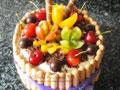 DIY水果奶油蛋糕
