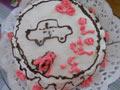 自制汽车奶油蛋糕