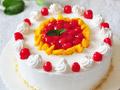 水果鲜奶蛋糕