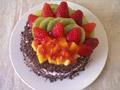DIY水果蛋糕