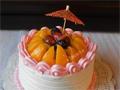 6寸水果蛋糕