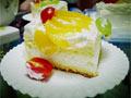 生日奶油水果蛋糕