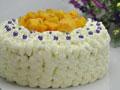 紫珠芒果蛋糕