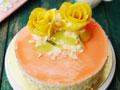 水蜜桃慕斯蛋糕