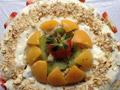 芝士水果蛋糕