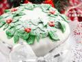 圣诞翻糖蛋糕