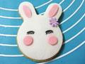 超萌的小萌兔翻糖饼干