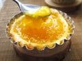 自制酸甜芒果酱酥蛋挞
