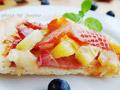 清新水果披萨