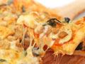 牛肉粒罗勒披萨