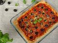家常番茄橄榄披萨