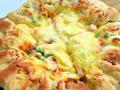 芝心鸡肉虾仁披萨