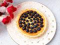 蓝莓乳酪挞
