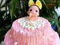 双层泡泡浴娃娃蛋糕
