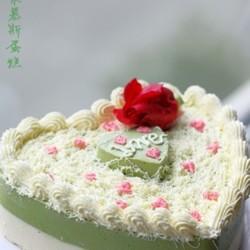 抹茶椰浆慕斯蛋糕
