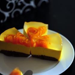 芒果果冻慕斯蛋糕