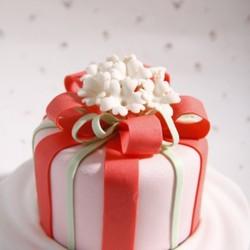 翻糖花卉蛋糕